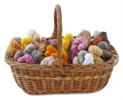 Food Dyed Yarn