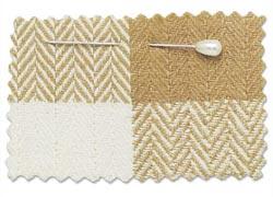 organic cotton check fabric
