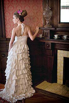 Organic Wedding Dress