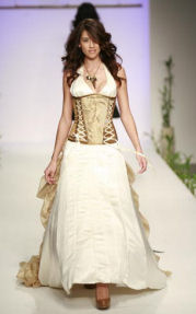 My Corset Eco Silk Wedding Gown