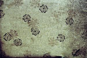vinyl floral fabric