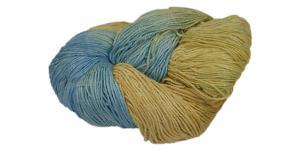 Tussah silk yarn