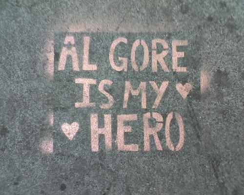 Al Gore Stencil