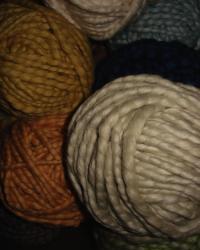 Monarch Hand Spun Chunky Organic Cotton Yarn