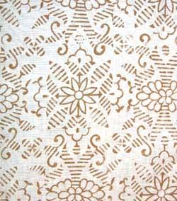 hemp print fabric