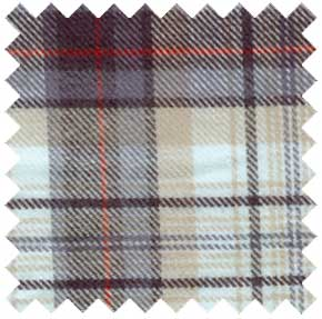 organic cotton flannel plaid fabric