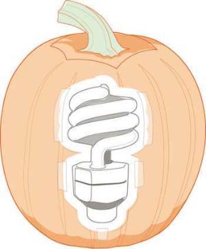 CFL pumpkin carving