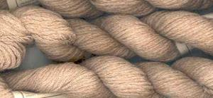 Chocolate cotton yarn