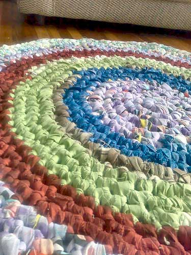 Colorful Rag Rug