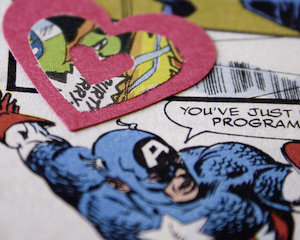 Comic Book Valentine