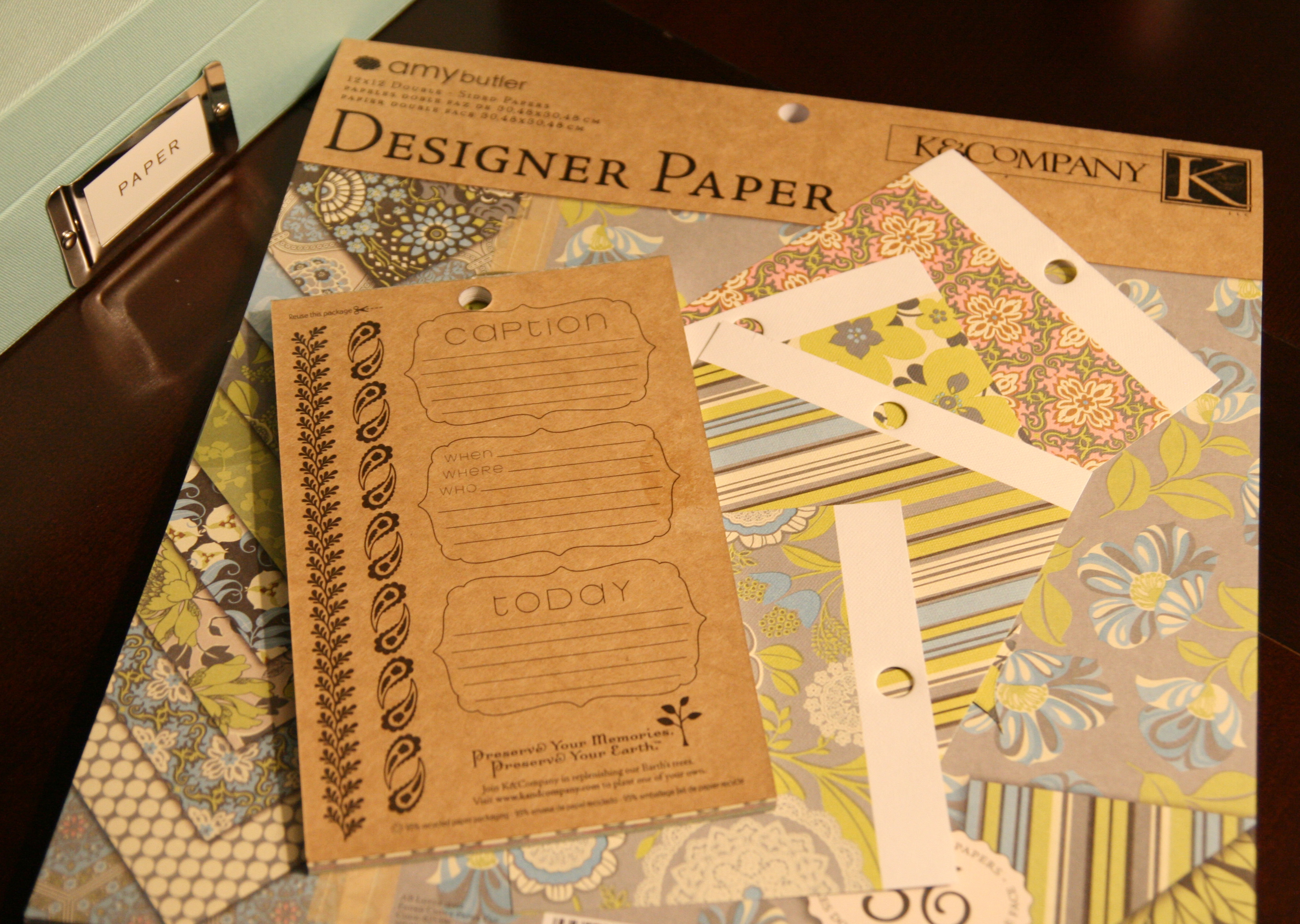 Eco Friendly Recycled Scrapbook Paper Crafting A Green World