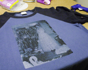 Arrange your T-shirt