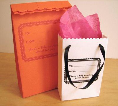 Envelope Gift Bags