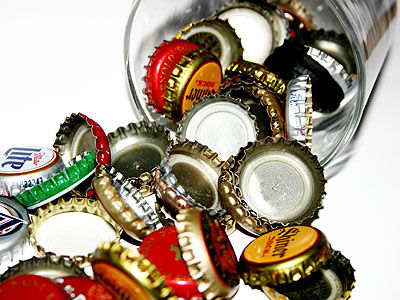 Crafty Reuse Ten Projects For Old Bottle Caps Crafting A Green World
