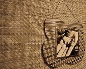 Scrapbook Paper Photo Frame