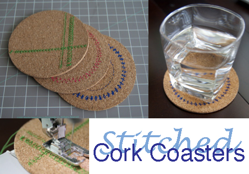 Stitched Coasters