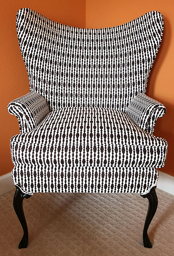 Swanky Swell Wing Back Chair