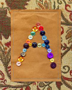 Vintage Button A