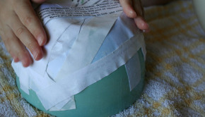 How to Make a Papier Mache Bowl