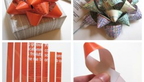 Make DIY Gift Bows from Scrap Paper