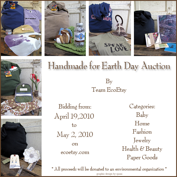EcoEtsy Earth Day Auction 2010