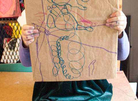 Brown Paper Bag Crafts: 15 DIY School Supplies