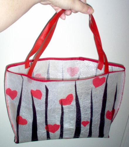 Fused Plastic Grocery Bag