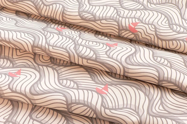 Sail Away designer fabric from Dotty Logic