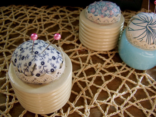 Napkin Ring Pincushion