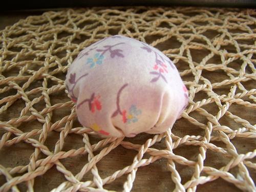 Mushroom top to your pin cushion