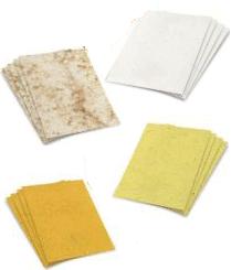 banana paper, coffee paper, mango paper