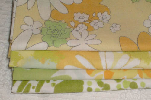 vintage fabric bundle