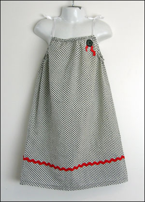 dress made from pillowcase