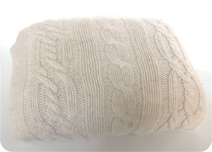 recycled sweater pillow