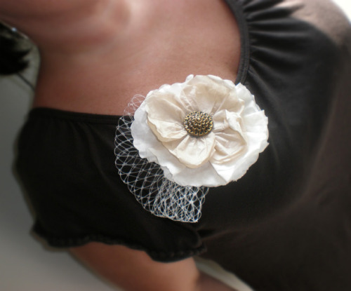 Coffee filter broach