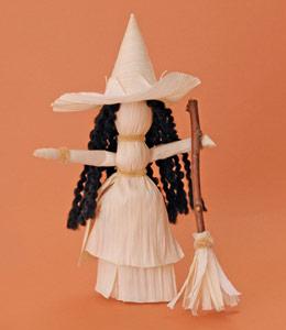 eco-Halloween witch craft