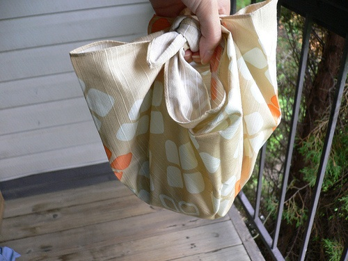knotted silk purse
