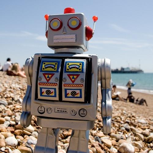 Robot Beach