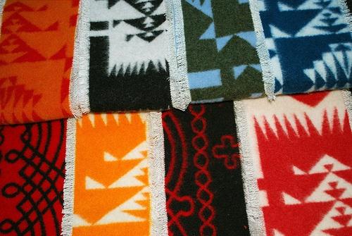 scarf blanket