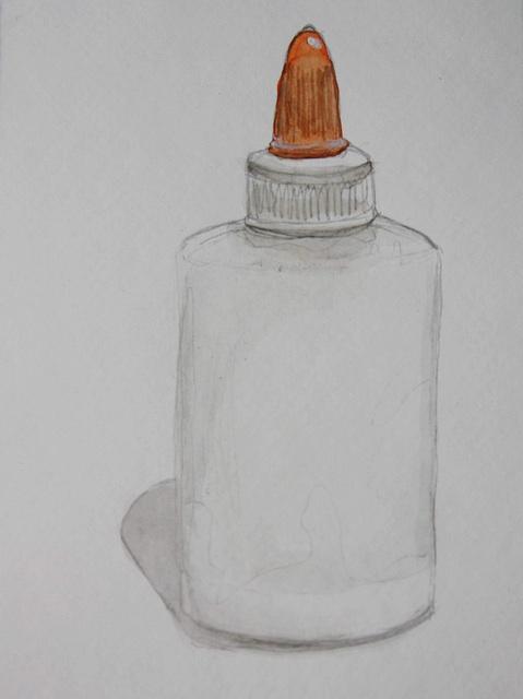 glue drawing