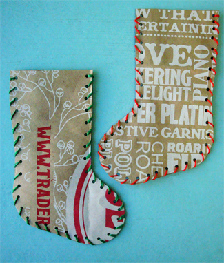 paper bag stocking
