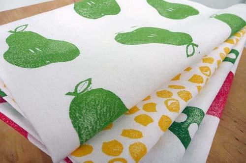 Block printed fabrics by Australian artist BIRCHseed