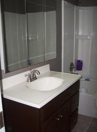 Diy eco friendly bath remodeling part 3 crafting a green world for Eco friendly bathroom remodel