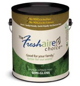 can of Freshaire paint