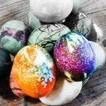 Tie Dyed Easter Eggs Tutorial