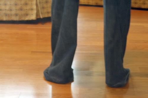 pants too long