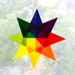 origami window star