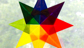 origami window star