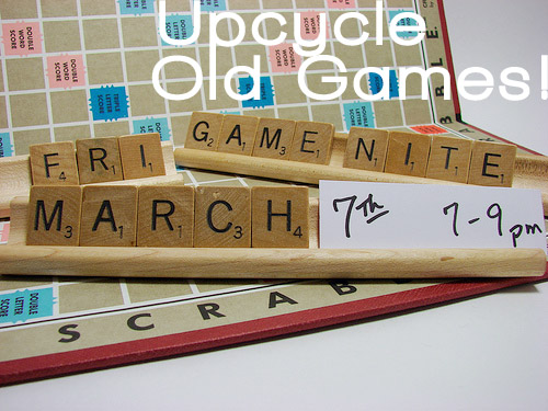 board game crafts: upcycle old games