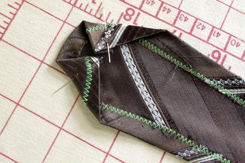 necktie cowl end
